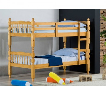 Meir Honey Wooden Bunk Bed