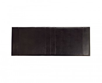 Carmen Black Faux Leather Headboard
