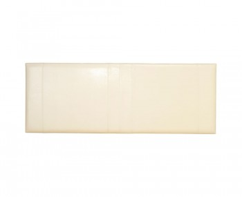 Carmen Cream Faux Leather Headboard