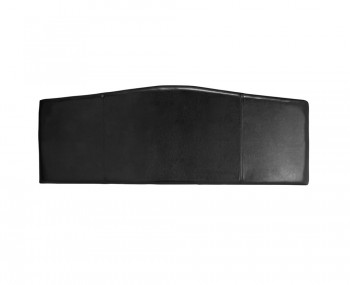 Rosie Black Faux Leather Headboard