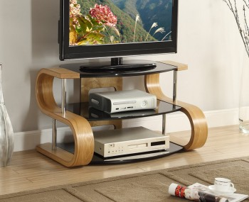 Scarlette Small 'S' Oak TV Stand