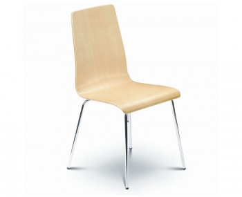 Mandy Maple Budget Dining Chair