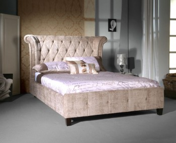 Nemiro Mink Upholstered Bed Frame