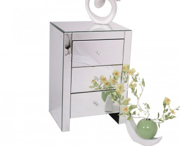 Amora Mirrored Bedside Chest