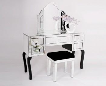 Minerva Single Mirrored Dressing Table