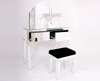 Portier Mirrored Dressing Table