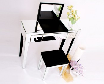 Villette Single Mirrored Dressing Table