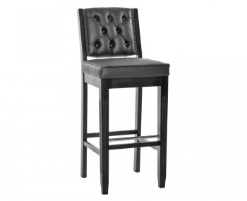 Columbus Leather Bar Stool