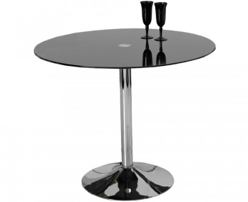 Jayden Black Glass Kitchen Table