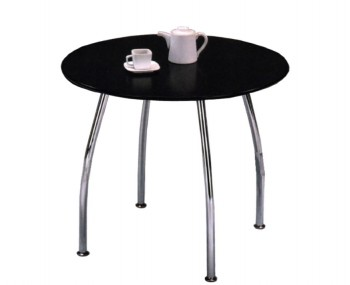 Raven Round Black Breakfast Table