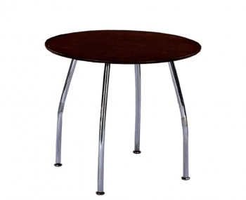 Tobago Round Walnut Breakfast Table