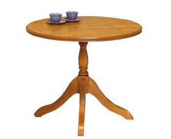 Lullingston Wooden Round Breakfast Table