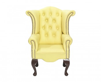 Giovani Lemon Faux Leather Childrens Chair