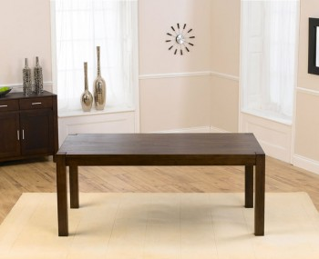 Whistler Dark Oak 180cm Extending Dining Table