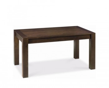 Lyon Walnut 150cm End Extending Dining Table