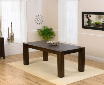 Madrid Dark Oak Extending Dining Table