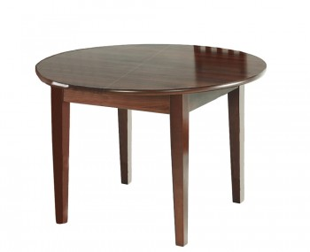 Ightham Wooden Round Extending Dining Table