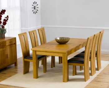 Aztec Oak Small Extending Dining Set