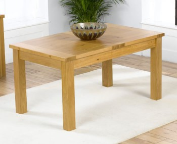 Aztec Oak Small Extending Dining Table