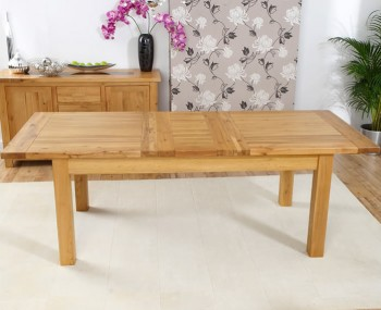 Aztec Oak Medium Extending Dining Table
