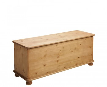 Lord Large Wooden Blanket Box