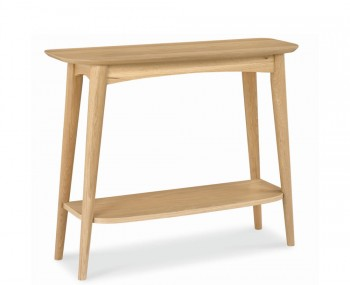 Orbit Oak Console Table