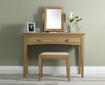 Hampstead Single Oak Dressing Table