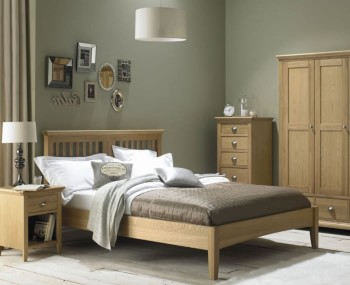 Hampstead Oak Bed Frame