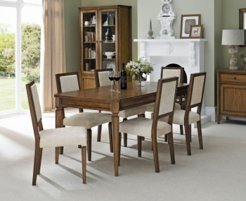 Sophia Oak Large Extending Dining Set