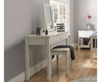 Atlanta Single White Dressing Table