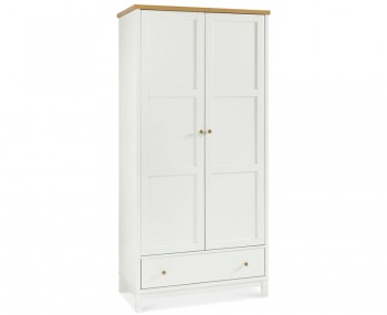 Atlanta Two Tone 2 Door Wardrobe