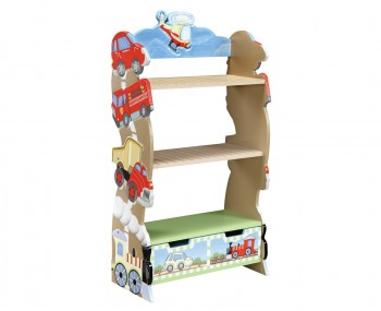 Transport Kids Bookcase