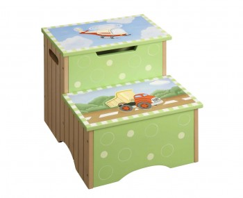 Transport Kids Step Stool