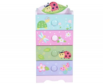 Magic Garden Kids 4 Drawer Chest