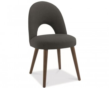 Oslo Charcoal Upholstered Dining Chairs