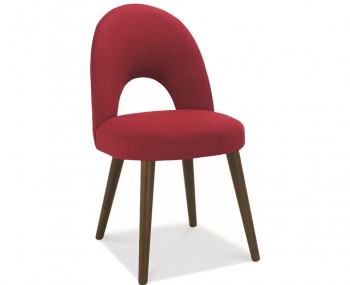Oslo Red Upholstered Dining Chairs