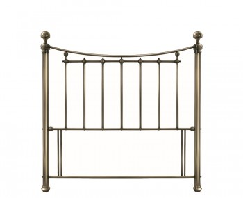Isabelle Antique Brass Headboard