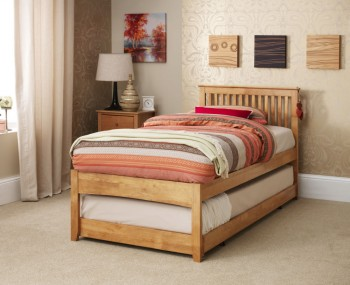 Freya Hevea Oak Guest Bed