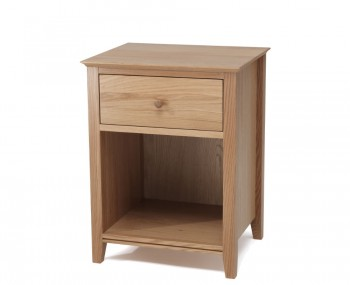 Salisbury Oak 1 Drawer Nightstand