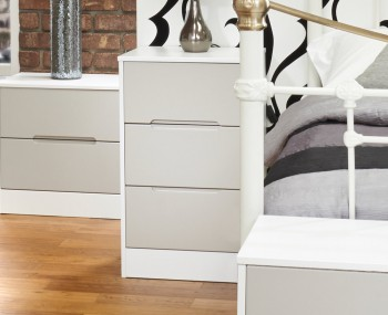 Riviera Mix 'n' Match 3 Drawer Bedside