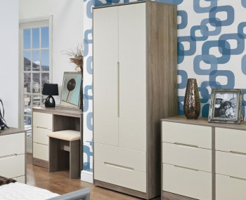 Riviera Mix 'n' Match 2 Door 2 Drawer Wardrobe
