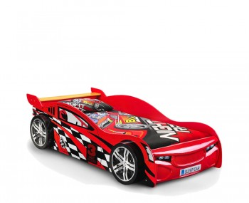 Sonic Red Racer Car Bed