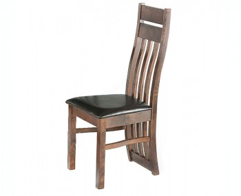 Knole Walnut Slatted Dining Chair