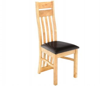 Knole Natural Oak Slatted Dining Chair