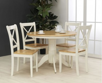 Dover Round Dining Table and Chairs