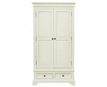 Woodstock Ivory 2 Door Wardrobe