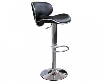 Nina Black Designer Bar Stools
