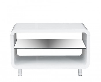 Camden White High Gloss TV Stand