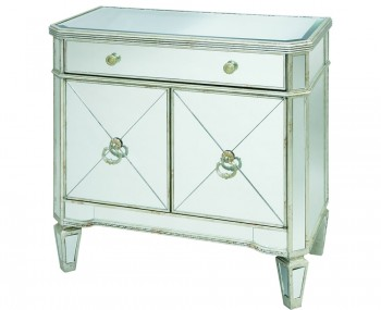 Annaba Small Mirrored Sideboard