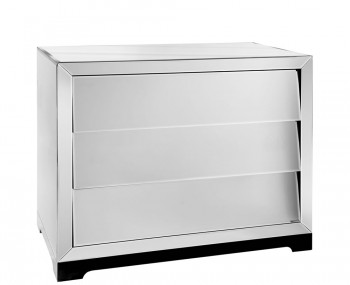Kaprun Mirrored 3 Drawer Chest